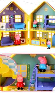 Peppa pig villa toy house