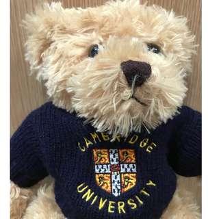英國直購~劍橋學院泰迪熊