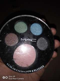 Mac eyeshadow blusher