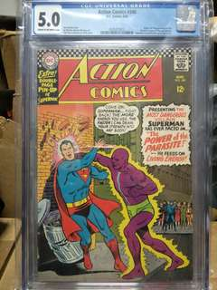 DC action comics key issue First appearance