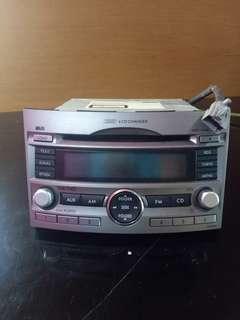 Subaru Legacy car radio set