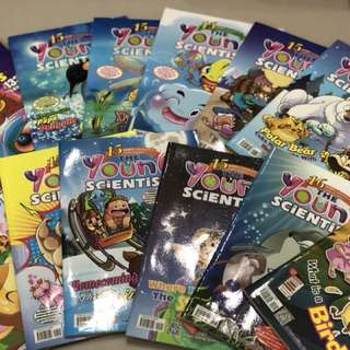 Young Scientist magazines (Level 1)