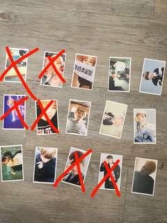 Bts lomo cards set 2
