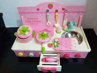 Strawberry Table Kitchen