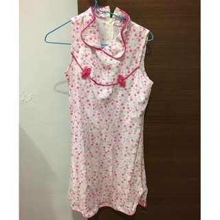 Cotton cheongsam