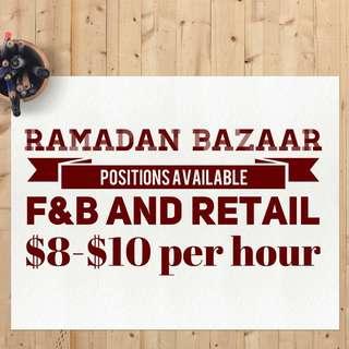 part time job / bazaar ramadhan