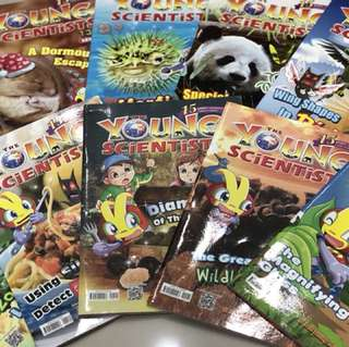 Young Scientist magazines (Level 2)