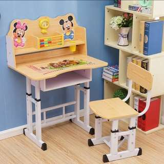 BN kid Study Table Children Desk *Free Delivery* 4 colours available