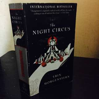 P100 ONLY! THE NIGHT CIRCUS by Erin Morgenstern