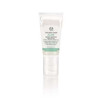 The body shop aloe instant soothing rescue gel