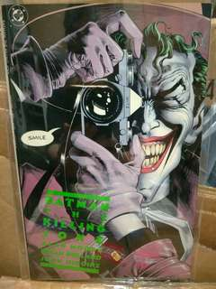 Free with purchase DC best selling most famous batman the killing joke