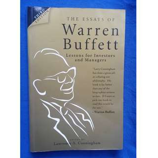 The Essays of Warren Buffett - lessons for Investors and Managers