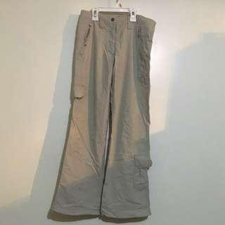 Charity Sale! Authentic Eikowada London Outerwear Beige Hiking Pants Size 24/25 Waist Women's Trekking Pants