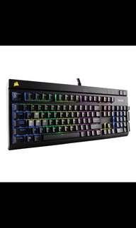*Super Mint* Corsair Strafe RGB Gaming Mech KB (Rare Blue Switches)