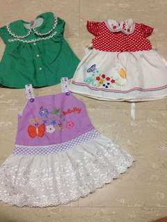 Baby Girl Dress and top 6-9 month