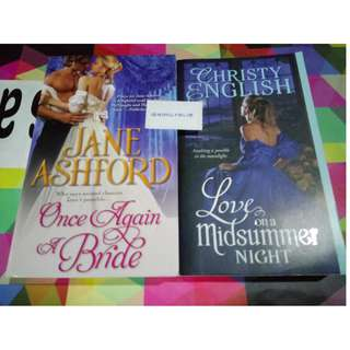 *Bundle of 2 * Historical (Regency) Romance : Christy English , Jane Ashford
