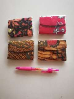 Coin purse bought from Bandung Indonesia rm4 each