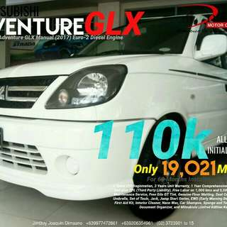 2017 Mitsubishi Adventure GLX LOW DOWN Promo SURE Approval NO Minimum Requirements DIAL NOW! 09277472861 or 09206354961