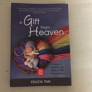 Book: a gift from heaven by Felicia Tan