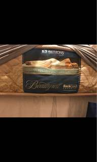 Simmons super single mattress and divan