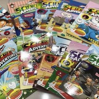 Science Adventure magazines (Level 2)