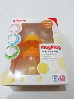 Pigeon MagMag All-in-one training cup set