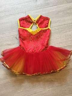 Chinese New Year Tutu Dress