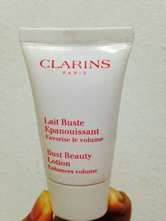 Clarins bust beauty lotion / Cream pembesar payudara