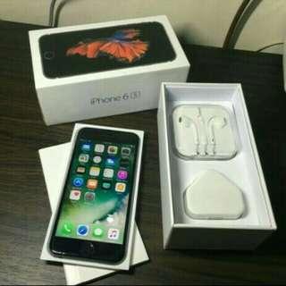 Jual Cepet iPhone 6S grey 64GB Fullset