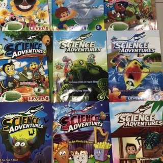 Science Adventure Magazines (Level 1)