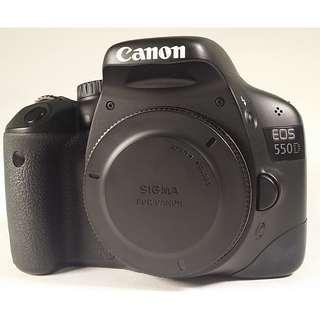 Canon EOS 550D  無盒裝 充電器 背帶(CB004)