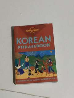 Lonely planet pocket size Korean phrase book language in the land of morning calm