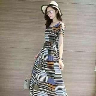 Maxi dress freesize fit S to L