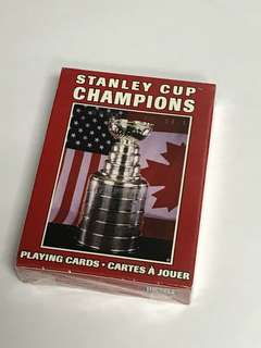 NHL Stanley Cup Champions 啤牌