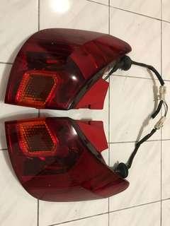 Lampu Belakang Complete Lampu Spoiler Toyota Caldina ST246 OFL
