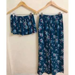 Bangkok Two-Piece Romper Pants