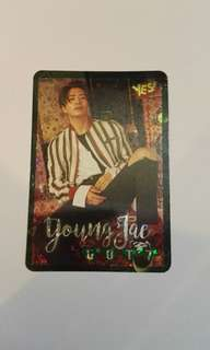 Got7 榮宰 閃卡 yes card