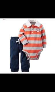 [Brand New] (24M) Carter's 2 Piece Bodysuit Pant Set