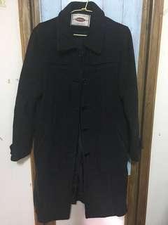 🚚 二手深灰色大衣