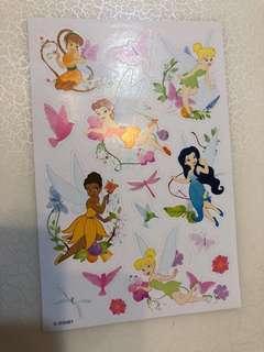 迪士尼仙女貼紙