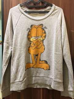 Forever 21 Garfield Grey Sweater
