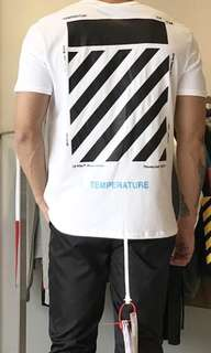 Off White Classic Tee $80