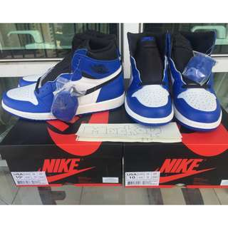 JORDAN 1 ROYALS white size: 10 / 10.5 US mens