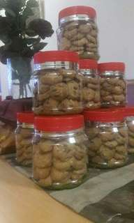 Brown Almond Cookies