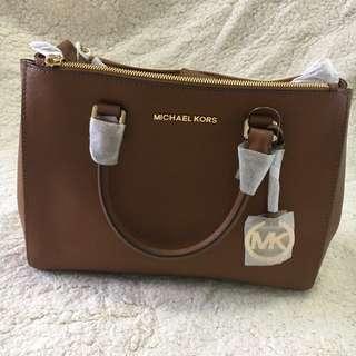 MICHAEL KORS Double Zip Tote Jet Set Travel Bag