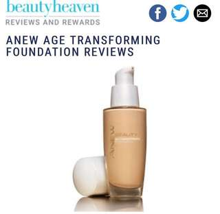 AVON ANEW Age Transforming Foundation SPF30 NUDE