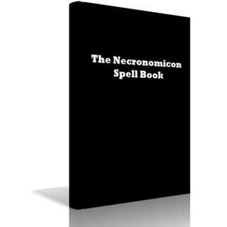 The Necronomicon Spell Book eBook