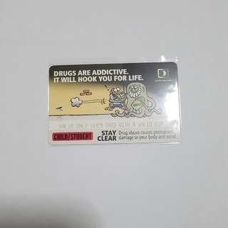 MRT Card - Against Drug Abuse