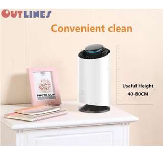 MMX - Outlines Air Purifier + Air Sterilization+ Mosquito Trap (EP007X 3-in-1 Multifunctional with Malaysia Plug)