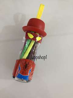 Super hero pen colors- goodies bag, goody bag gift, goodie bag packages
